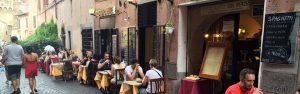 Ristorante pesce Roma Trastevere